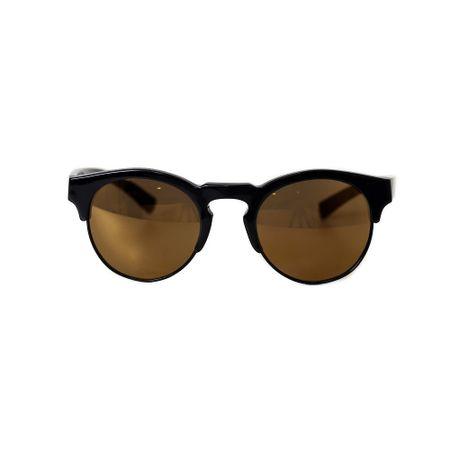 Óculos De Sol Lente Amarela Haste Preta