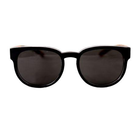 Óculos Unissex Preto Haste Tartaruga - Óculos Unissex Preto Tartaruga