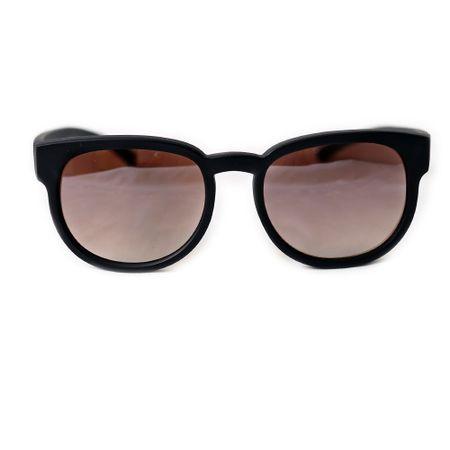 Oculos Unissex Preto Fosco