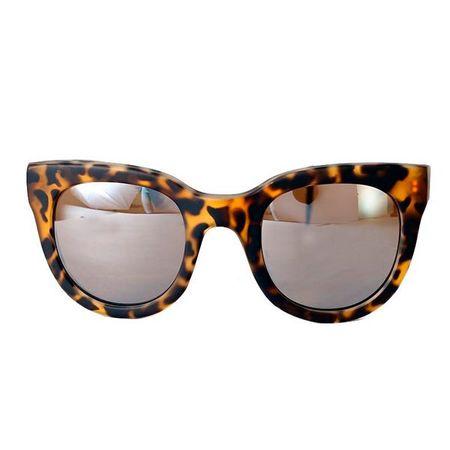 Óculos Quadrado Gatinho Tartaruga Fosco