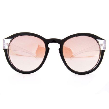 Óculos R Grande Preto Com Transparente