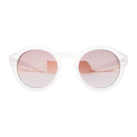 Óculos R Pequeno Transparente/Perolado