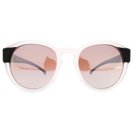 Óculos R Grande Transparente Perolado