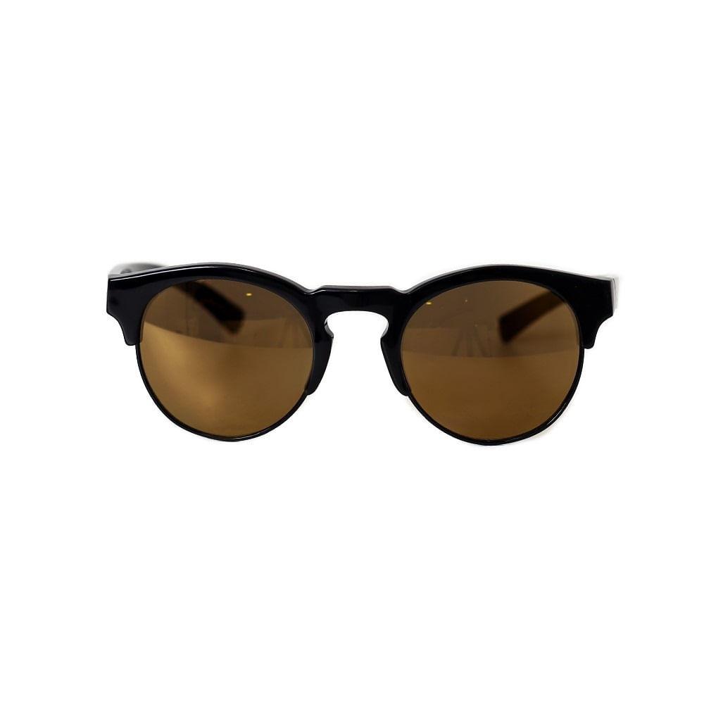 ff5d0fb773e65 Óculos De Sol Lente Amarela Haste Preta - Óculos de sol lente amarela