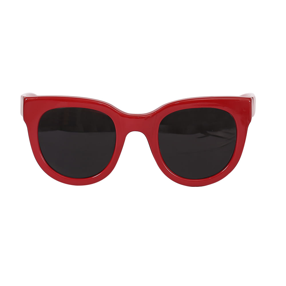 Óculos Quadrado Gatinho Vermelho