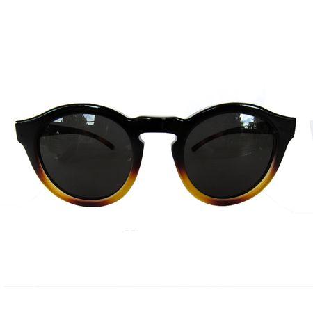 Óculos Redondo Médio Preto