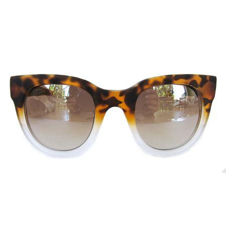 1bfe864a7c425 Óculos Quadrado Gatinho Tartaruga E Transparente Fosco