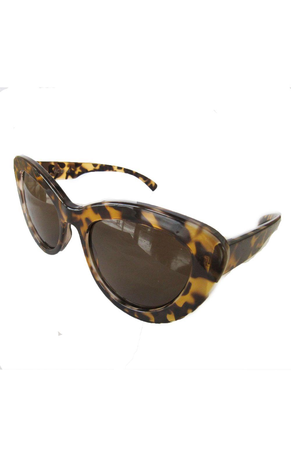 16f8540a09c2b ... Foto 2 - Óculos Gatinho Grande Tartaruga Inteiro