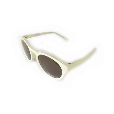 Óculos Kids Redondo Marfim