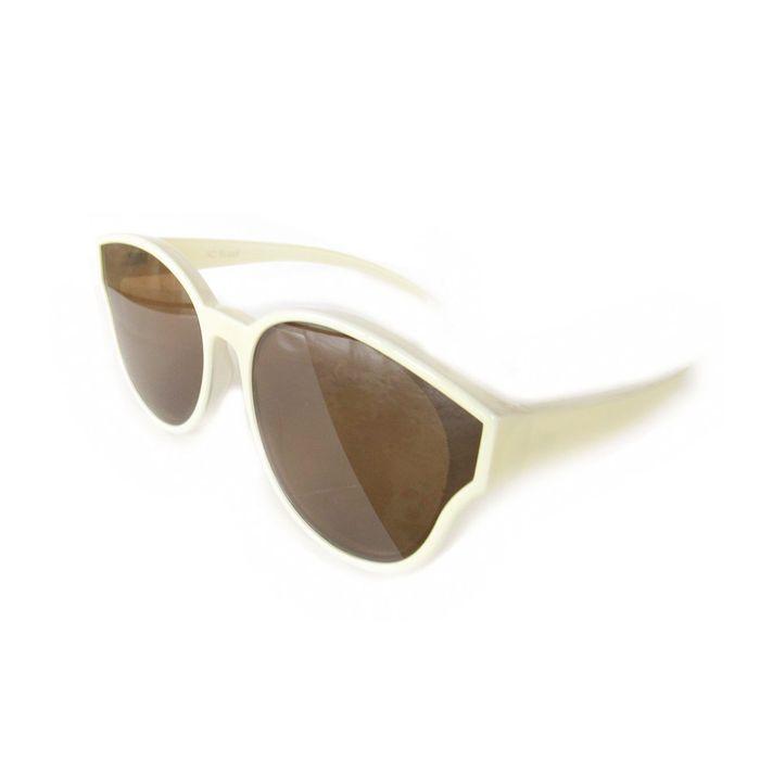 Óculos Marfim Lente Plana Espelhada. AC Brazil d47585747f