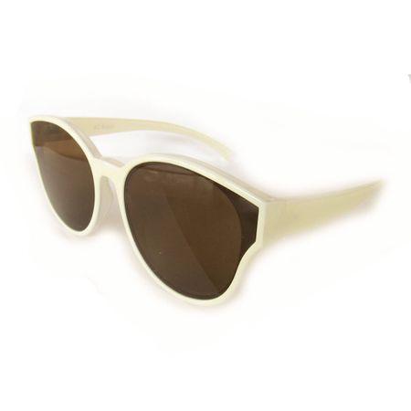 Óculos Marfim Lente Plana