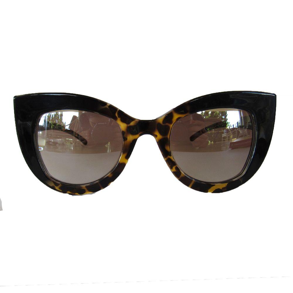74339b630 Óculos De Sol Gatinho Preto Espelhado - acbrazil