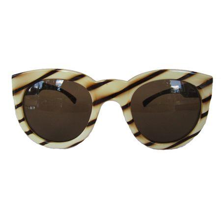 Óculos Quadrado Style Marfim