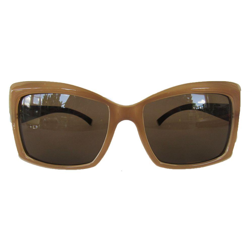 Óculos Retangular Nude Espelhado - acbrazil