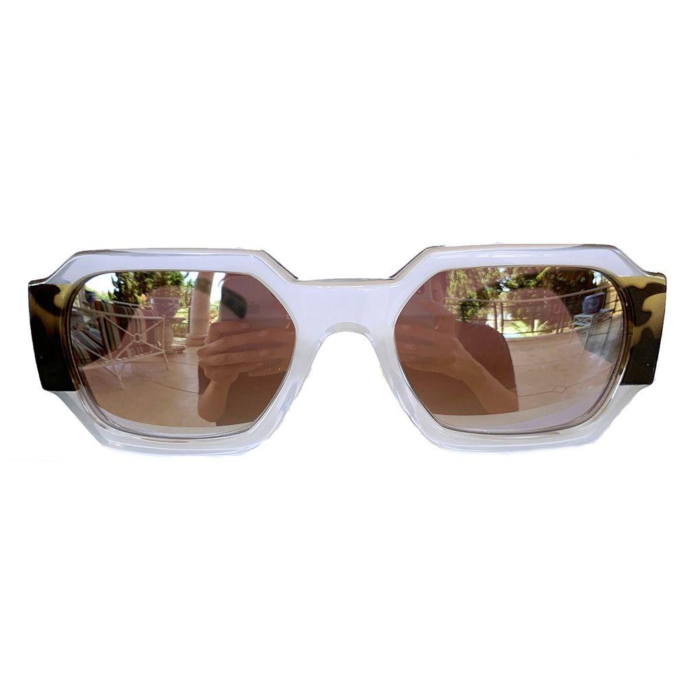Óculos Retangular Tartaruga - acbrazil