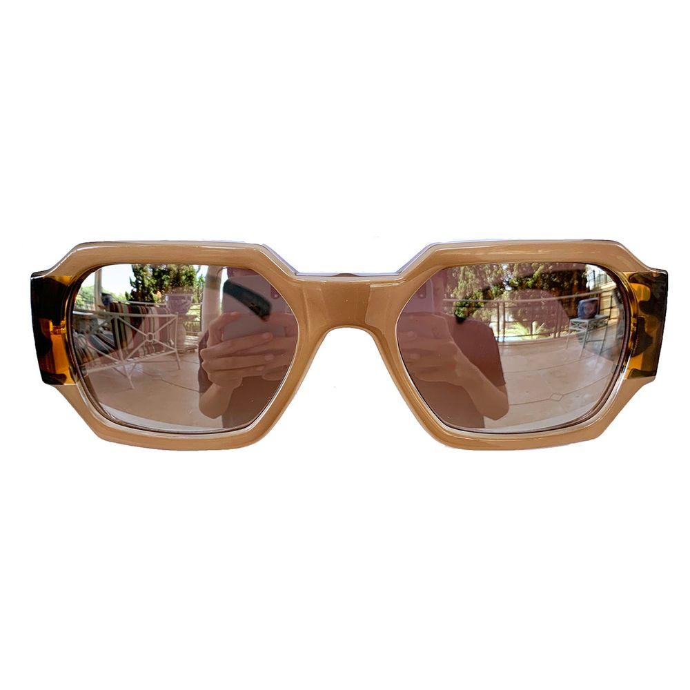 Óculos Retangular Nude - acbrazil