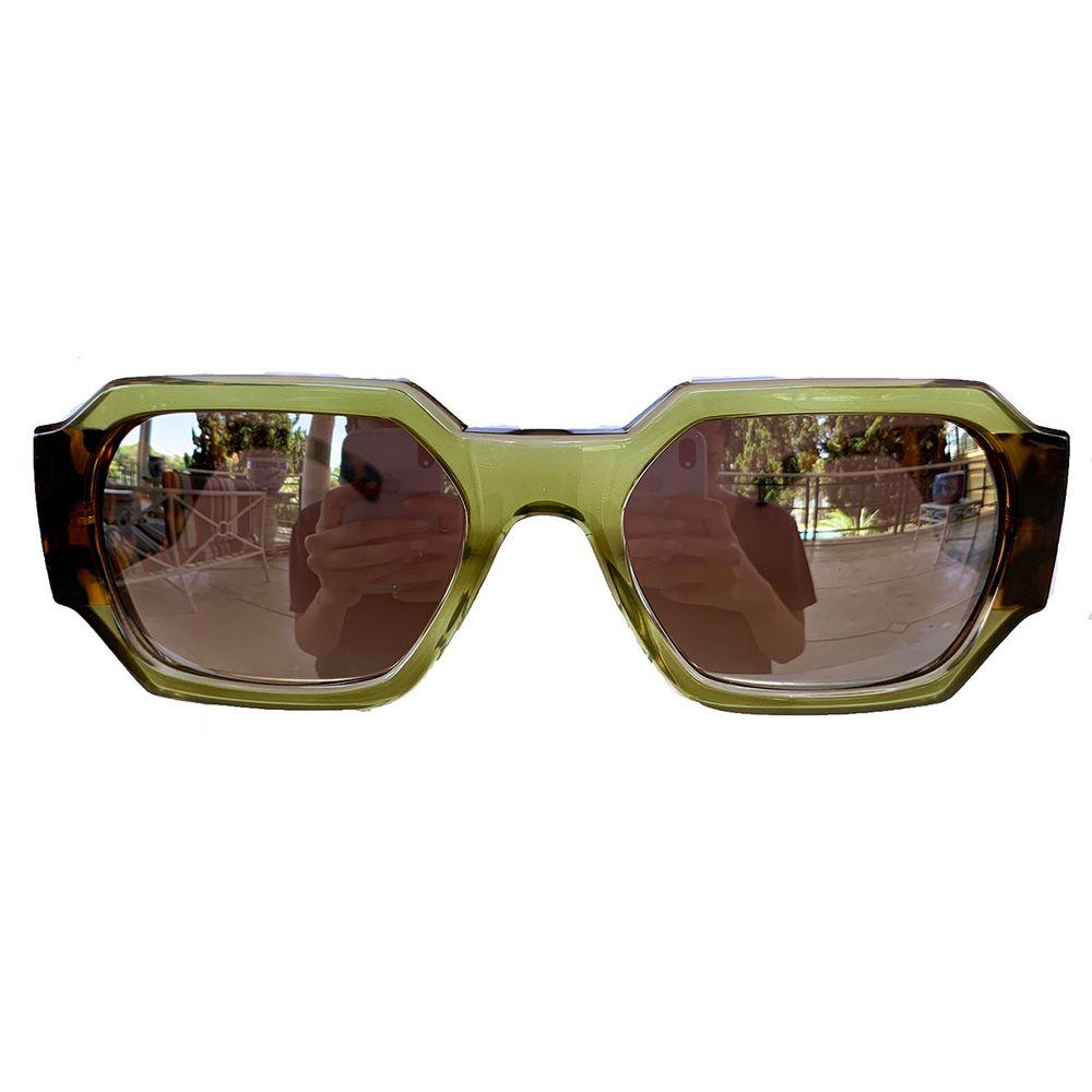 Óculos Retangular Perolado Espelhado - acbrazil